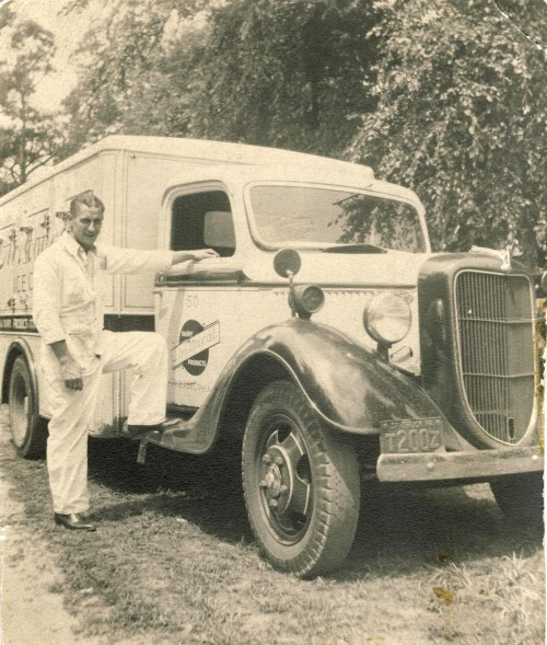 Grandpop and Truck, 1937
