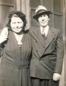 Frances Pater and Paul Nieginski