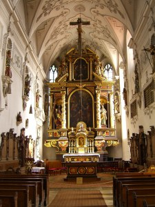 Interior of St. John\'s church, Altar