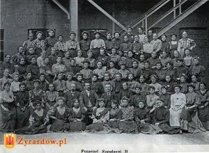 Workers in Zyrardow