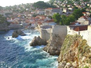 The walls of Dubrovnik