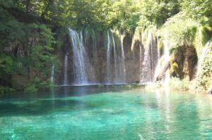 One of the Plitvice Lakes