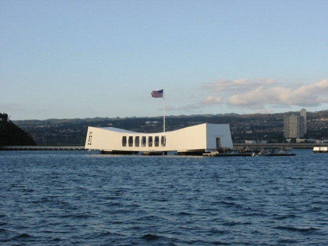 The USS Arizona Memorial, Pearl Harbor, HI