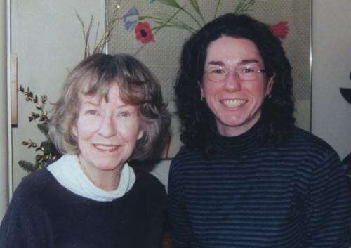 Visiting Betsy Blair in 2002