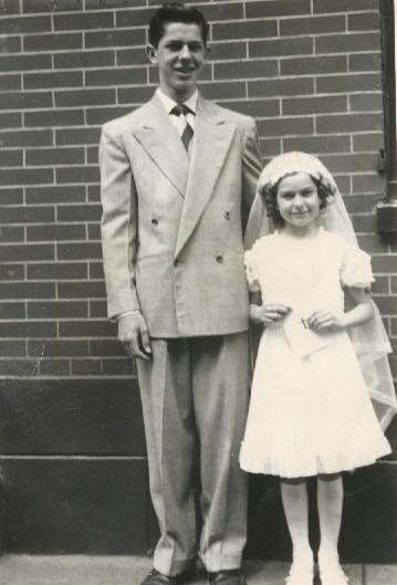 James and Jean Pointkouski, 1949