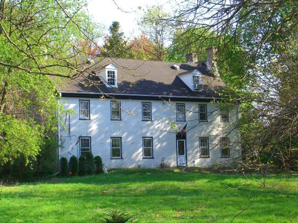 The Toy-Morgan House, Palmyra, NJ, originally built in 1761.