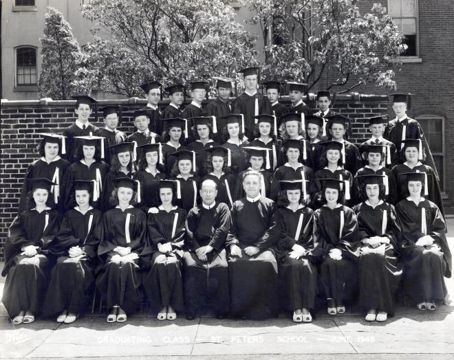 Class of 1948, St. Peter's Grade School, Philadelphia PA