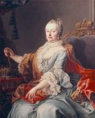 Maria Theresa in 1759 (SOURCE: Wikipedia public domain image)