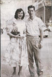 Anita and Jim in 1955