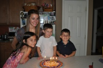 My nieces and nephews