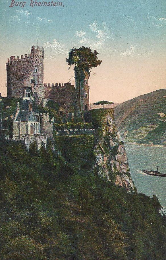 Front: Burg Rheinstein